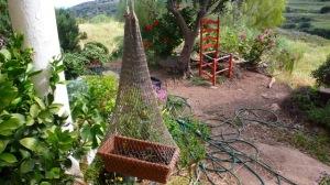 Un petit jardin suspendu.